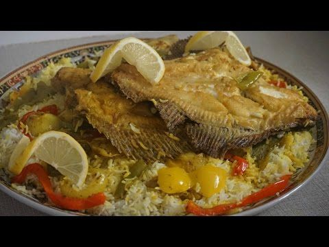 مطبگ السمك على طريقة مطبخ الهدى العراقي Middle Eastern Recipes Food Fish Recipes