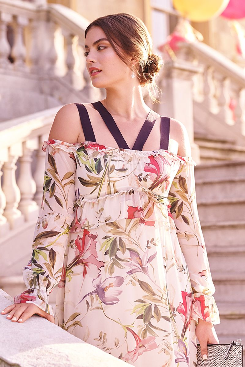 A perfectly printed floral dress for this year\'s best summer ...