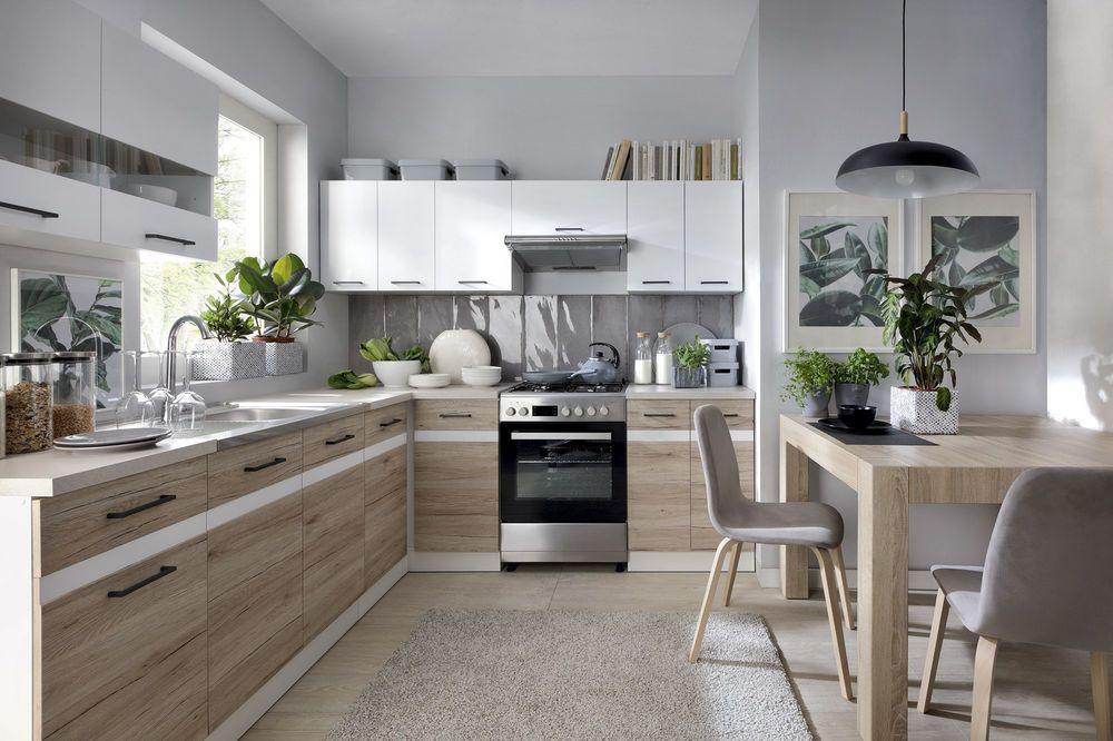 LForm Küche erweiterbar in 4 Farbkombinationen erhältlich