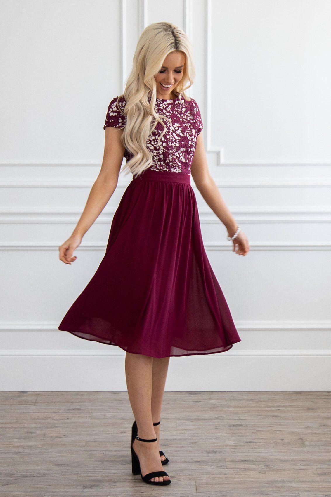 1617de66e5 Great choice for a Modest Bridesmaid Dress! Jen Clothing s