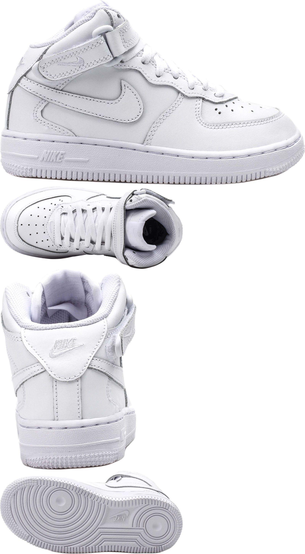 Nike Air Force 1 Mi Achat Ebay Blanc