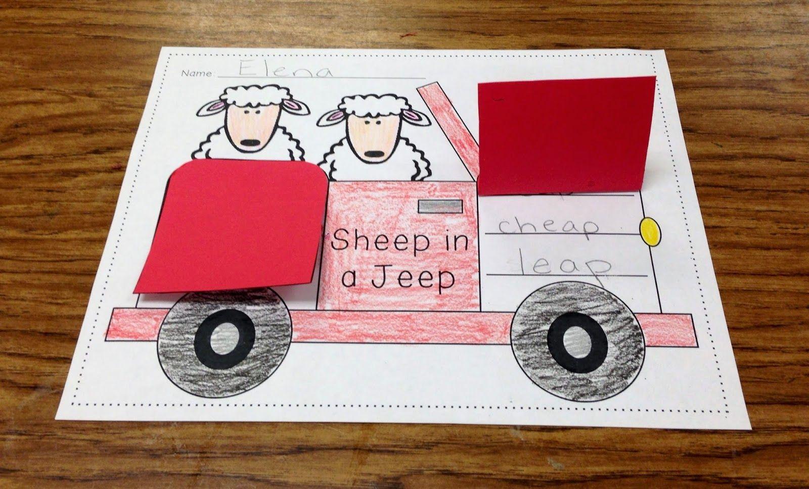 Fun On The Farm Sheep In A Jeep
