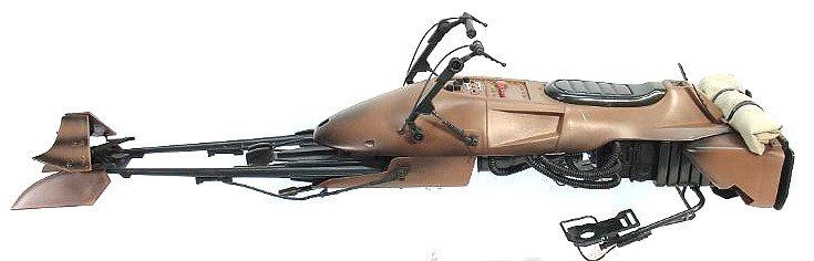 Biker Scout Trooper 1 6 Scale Figure 24 Speeder Bike Starwars