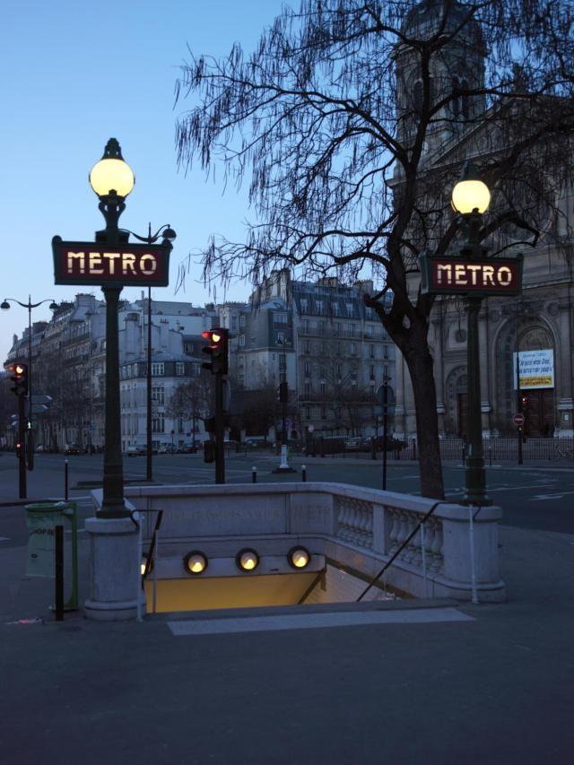 Paris Metro Vocabulary - Useful Vocabulary for Using the Paris Metro. good to know, print. read 8/6