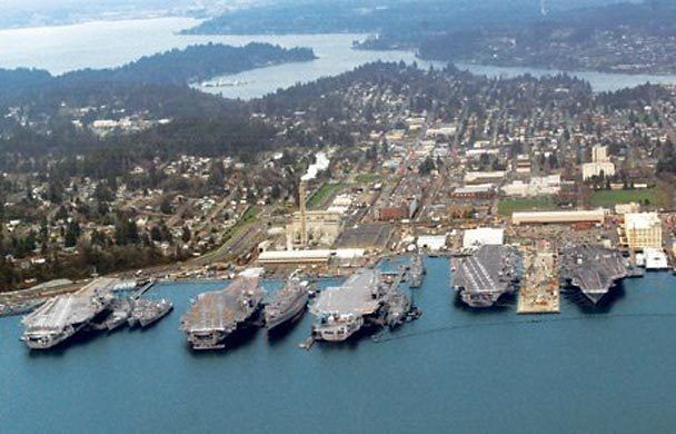 Puget Sound Ship Yard My Grandpa Used To Work There As