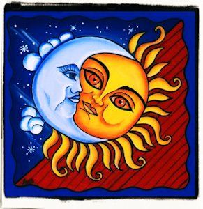 La leyenda del Sol y la Luna Antes de que hubiera da en el mundo