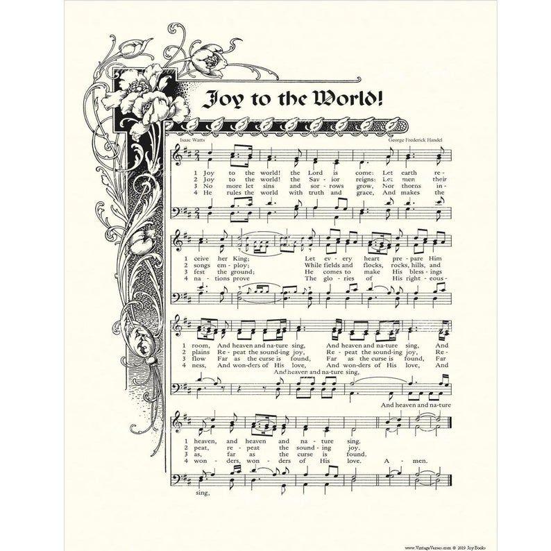 JOY To The WORLD Christian Home & Office Decor Christmas