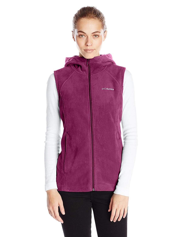 a8eb4bedbd97 Women s Active Sweatshirts - Columbia Women s Benton Springs Hooded Vest at Women s  Coats Shop  Women