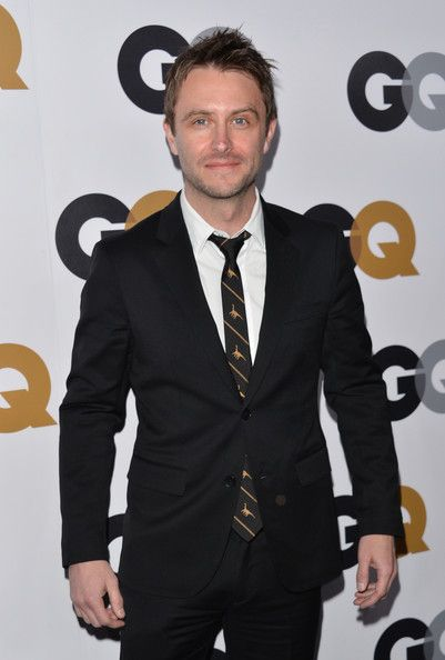 Chris Hardwick - GQ Men Of The Year Party - Arrivals  (Check out his tie!  That is the coolest tie ever!!  -dmm)