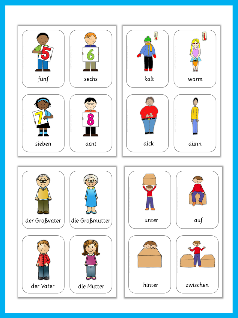 Worksheet German Intermediate For Children Lessons german flash cards basic vocabulary flashcard weather and vocabulary