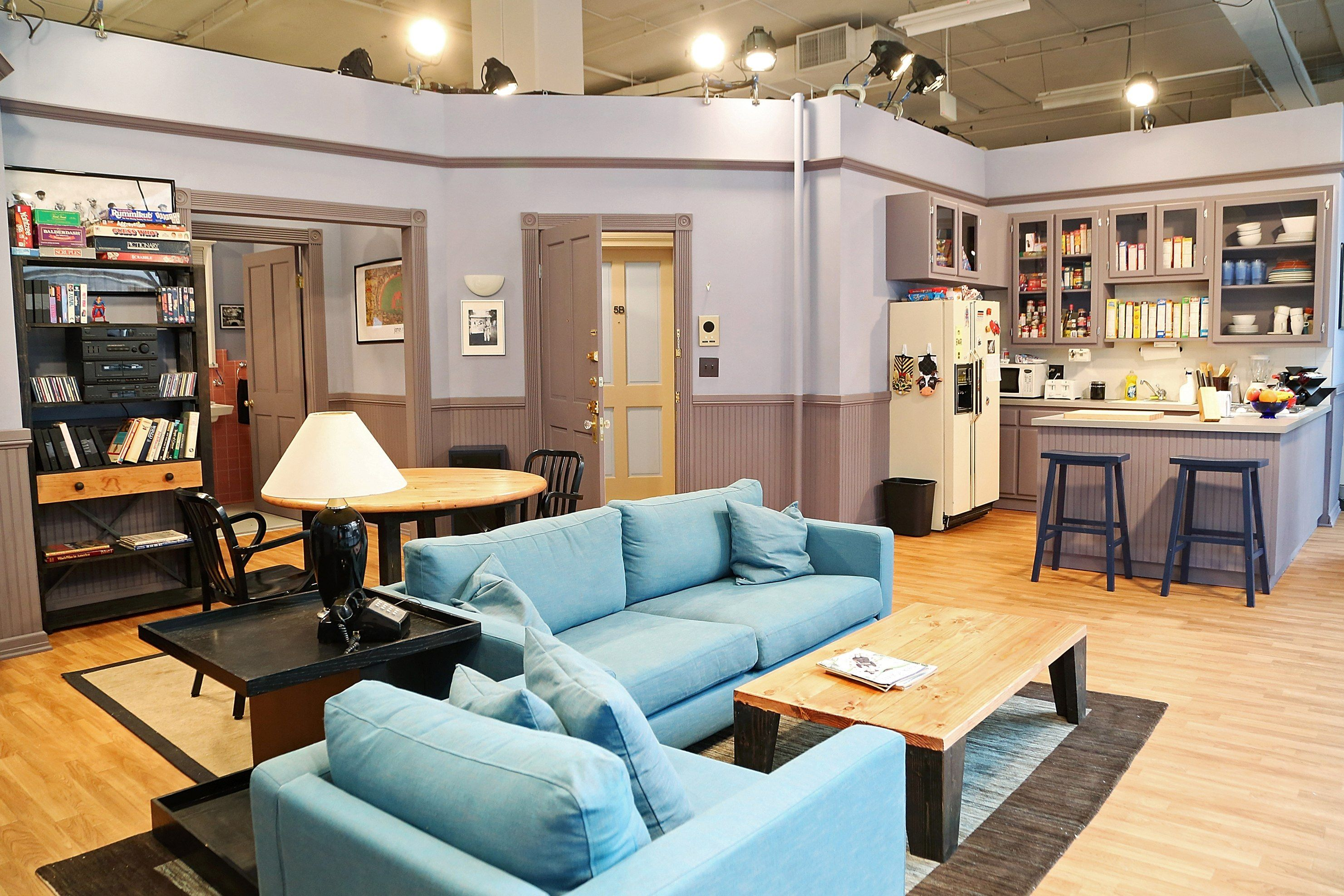 Readyset Inc Seinfeld Apartment Trending Decor