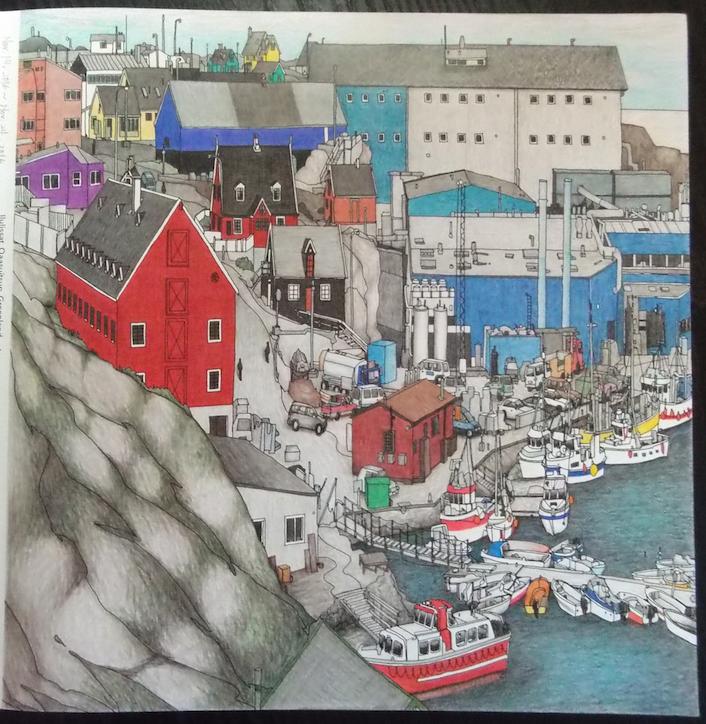 Fantastic Cities : pg.3 Ilulissat, Qaasuitsup, Greenland   #stevemcdonald #fantasticcities