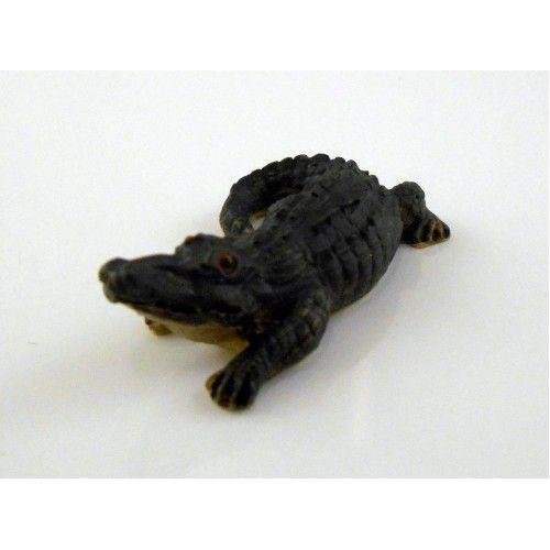 Dolls House Animal Falcon Miniature 1:12 or Large 1:24 Scale Alligator