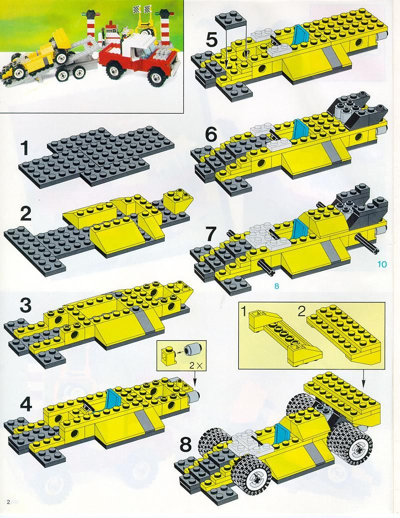 Old Lego Instructions Letsbuilditagain Lego Pinterest