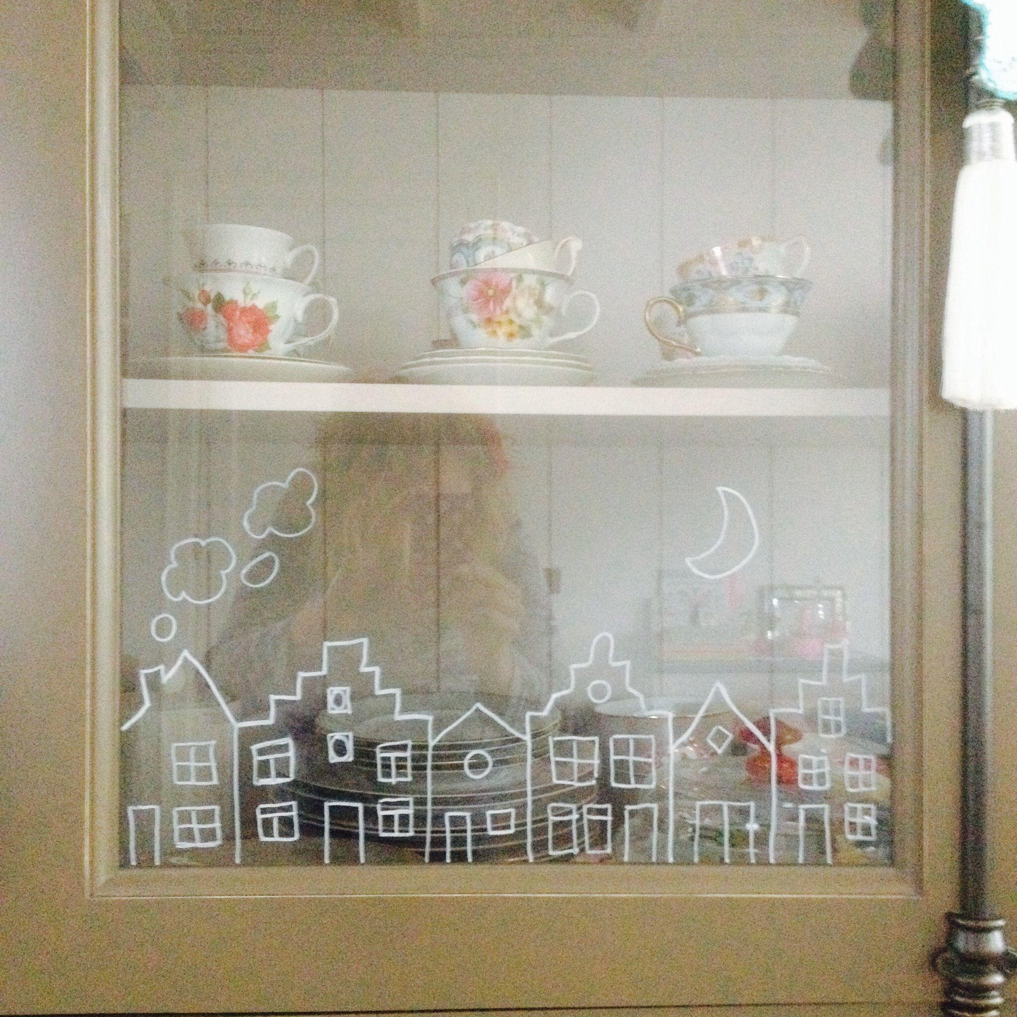 Sinterklaas window painting#Marije Zijderlaan-Daanen