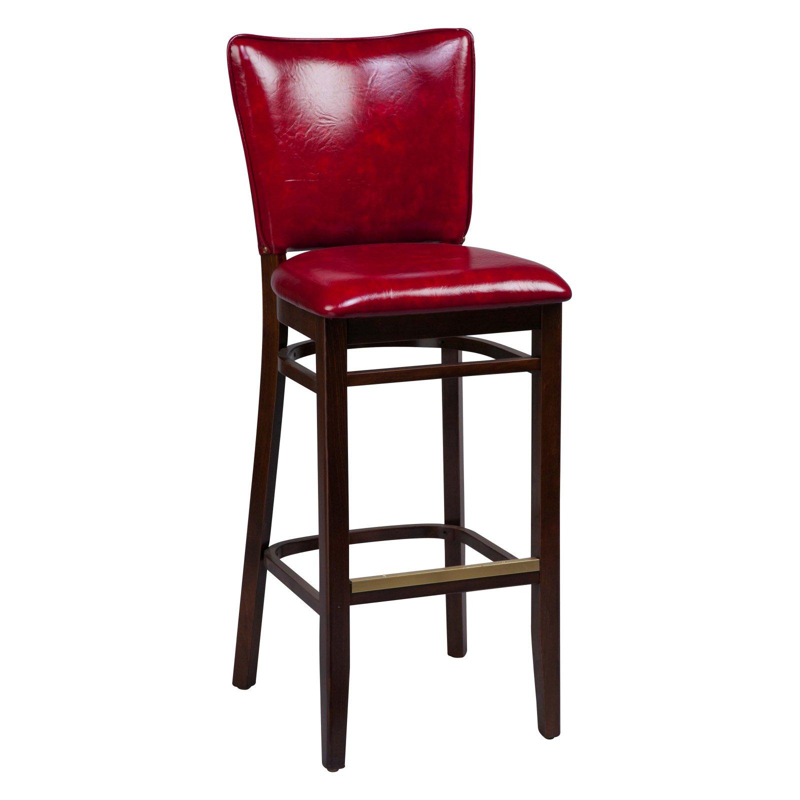 Regal Beechwood 2440 Bar Stool Fully Upholstered Seat And Back Black In 2020 Bar Stools Stool Bar Stool Buying Guide