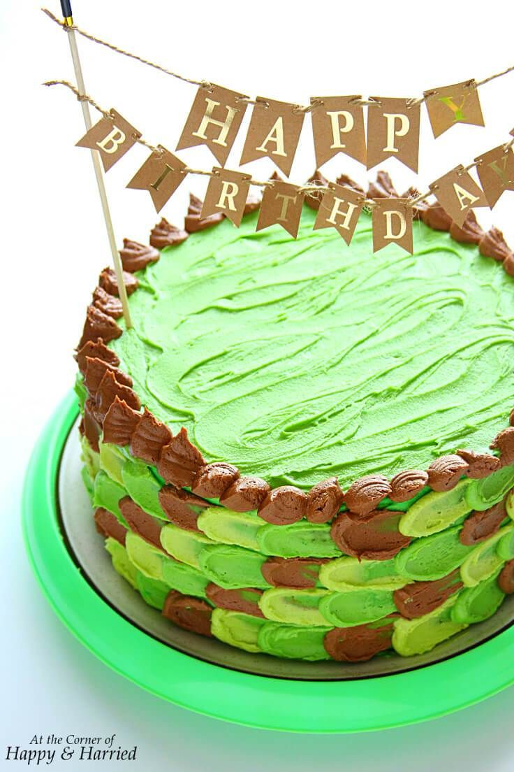Minecraft Themed Birthday Cake Recipe Vegetarian Foods All