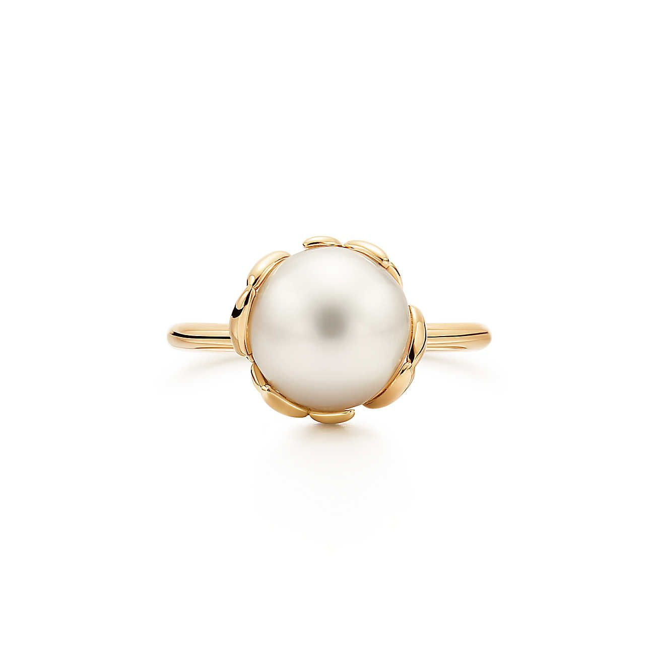 6cbf6bc61 Paloma Picasso® Olive Leaf Pearl Ring in 2018 | Shine Bright Like A ...