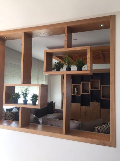 cloison de s paration s paration bois architecture d int rieur espacios espace deco. Black Bedroom Furniture Sets. Home Design Ideas