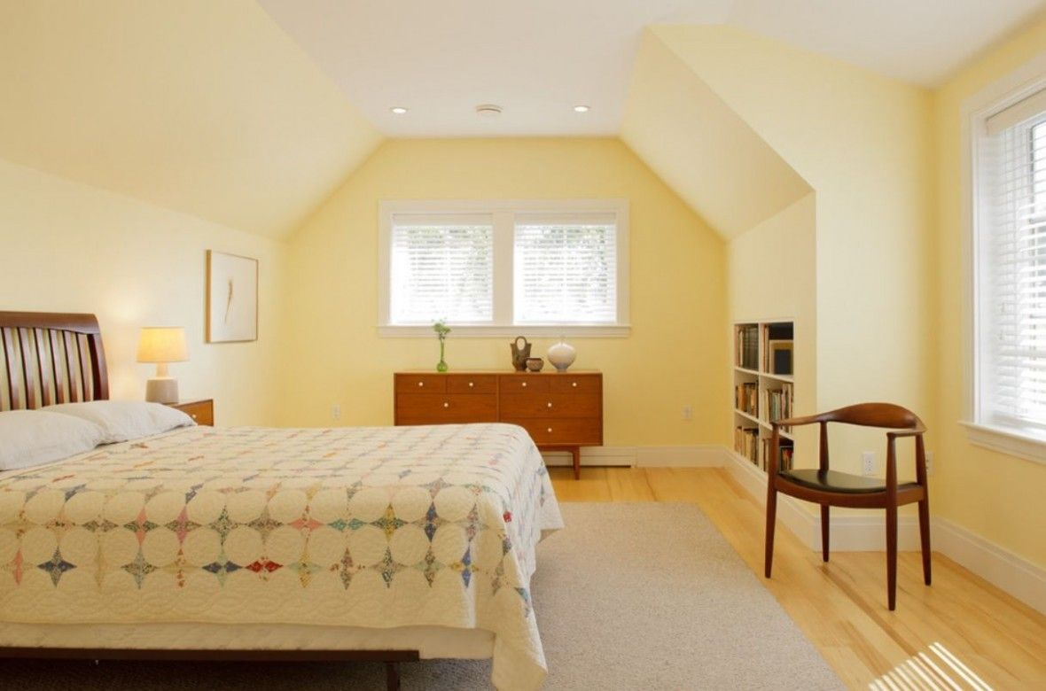 Light Yellow Wall Bedroom There S Article Smile Inducing About