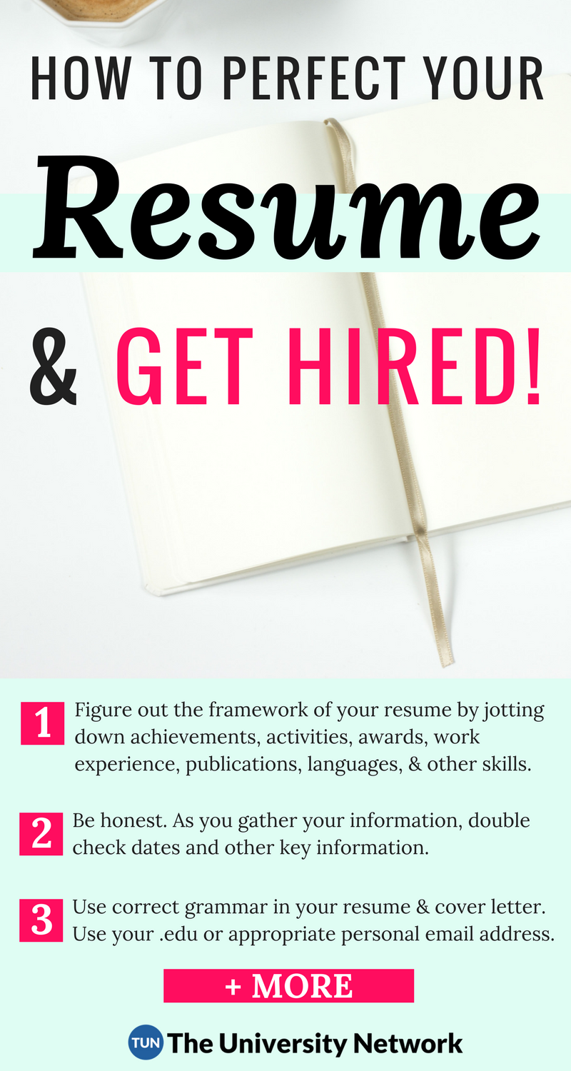 The Complete Resume Guide for College Students – 12 Rules for Resume ...