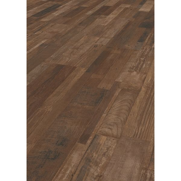 Shop Goodfellow 8mm Superior Driftwood Embossed Laminate Flooring At