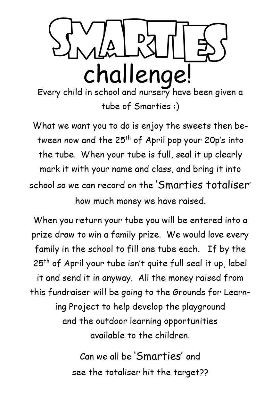Smarties Challenge Uphall Primary School Pta Fundraising School Fundraisers Church Fundraisers