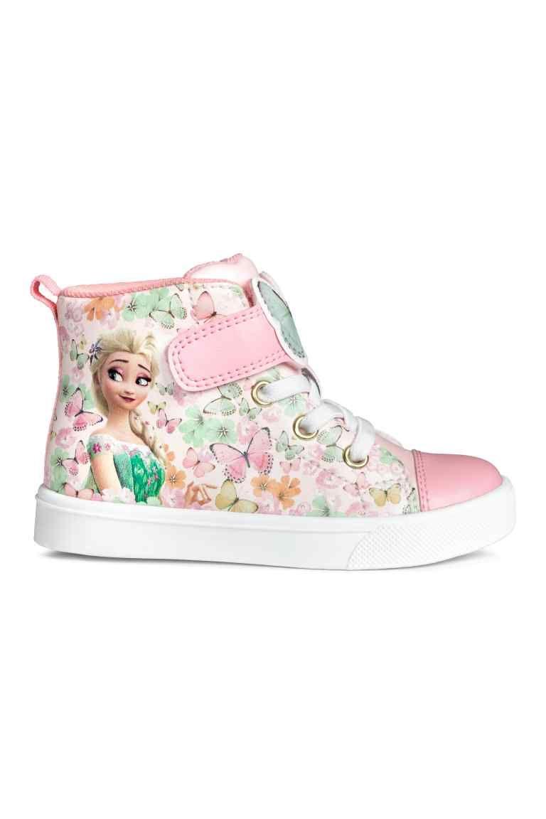 def0230d58d Zapatillas deportivas altas - Rosa claro Frozen - NIÑOS