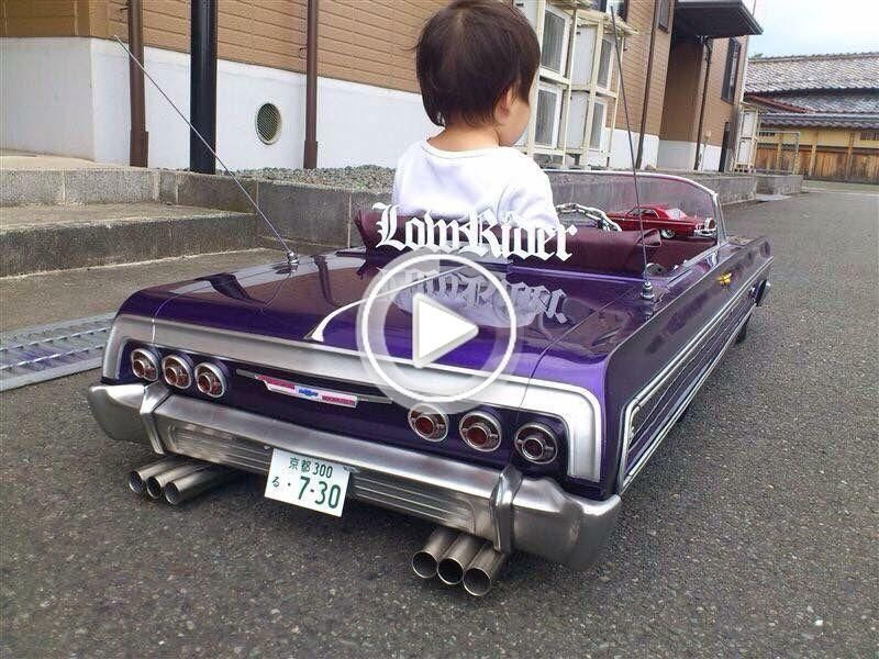 64 impala lowrider pedal car with car club plaque in 2020