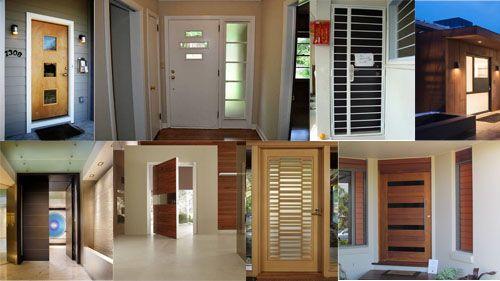 Desain Pintu Utama Rumah Minimalis, 10 Gambar Contoh # ...