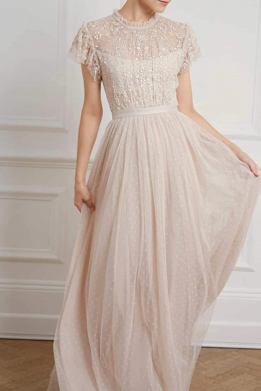 Whitethorn Bodice Maxi Dress -   17 prom dress Korean ideas