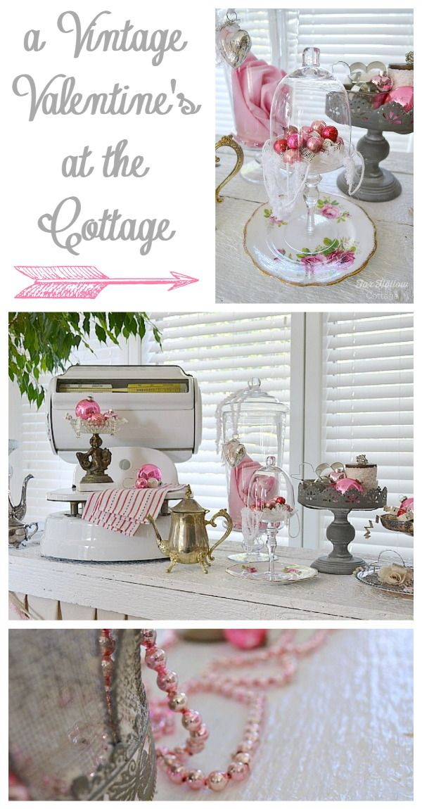 Valentine S Day Decorating Diy To Vintage Homegoods Enthusiasts