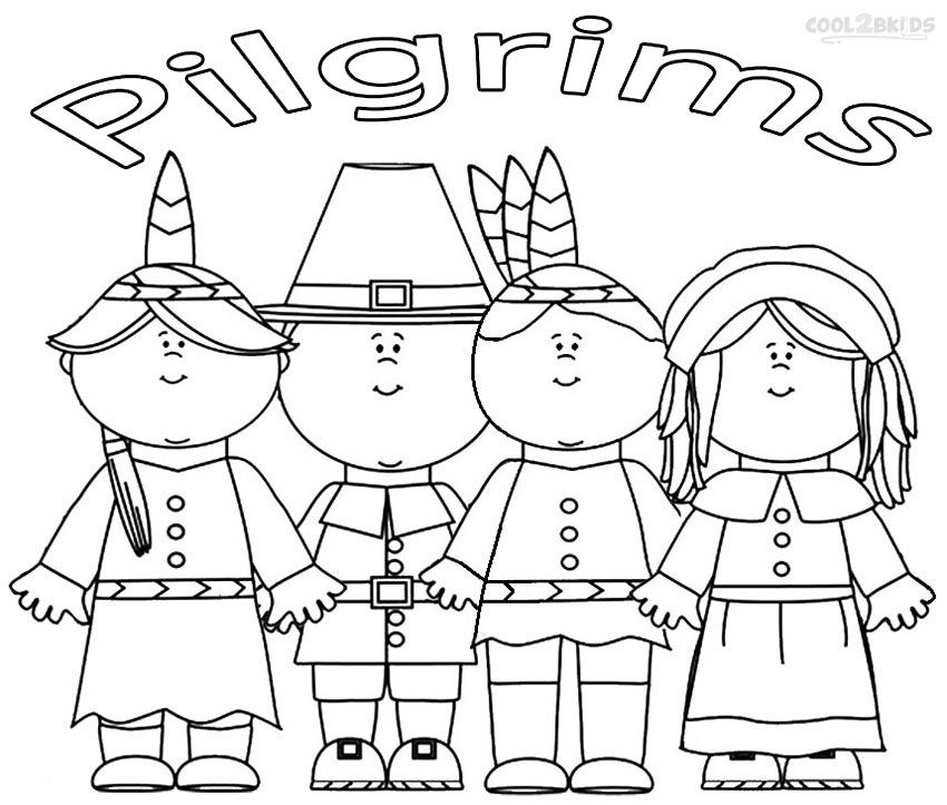 Pilgrim Fathers Simply Known As Pilgrims Have Made Their Way Into The World Of Childrens Art A Popular Subject For Online Coloring Pages