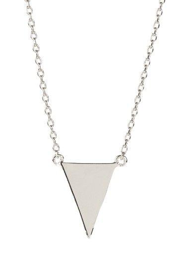 Triangle Necklace on HauteLook