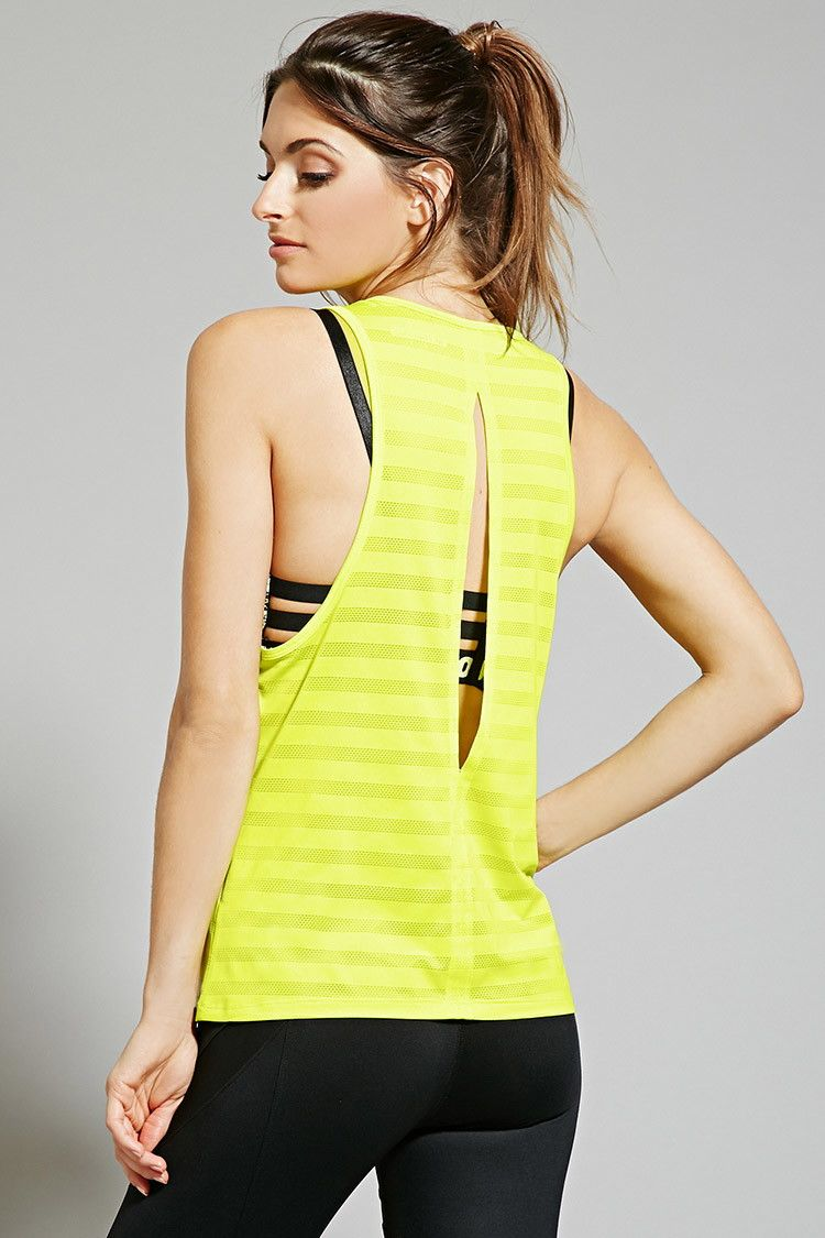 Active ShadowStriped Tank Forever 21 2000185001