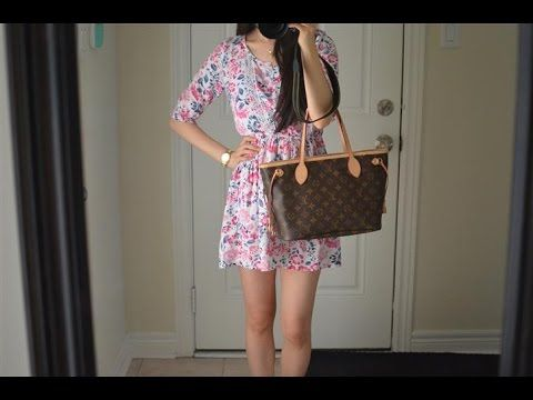 OOTD feat. the Louis Vuitton Neverfull PM Monogram Purse Bag + Mini Review 9989c4f958f1a