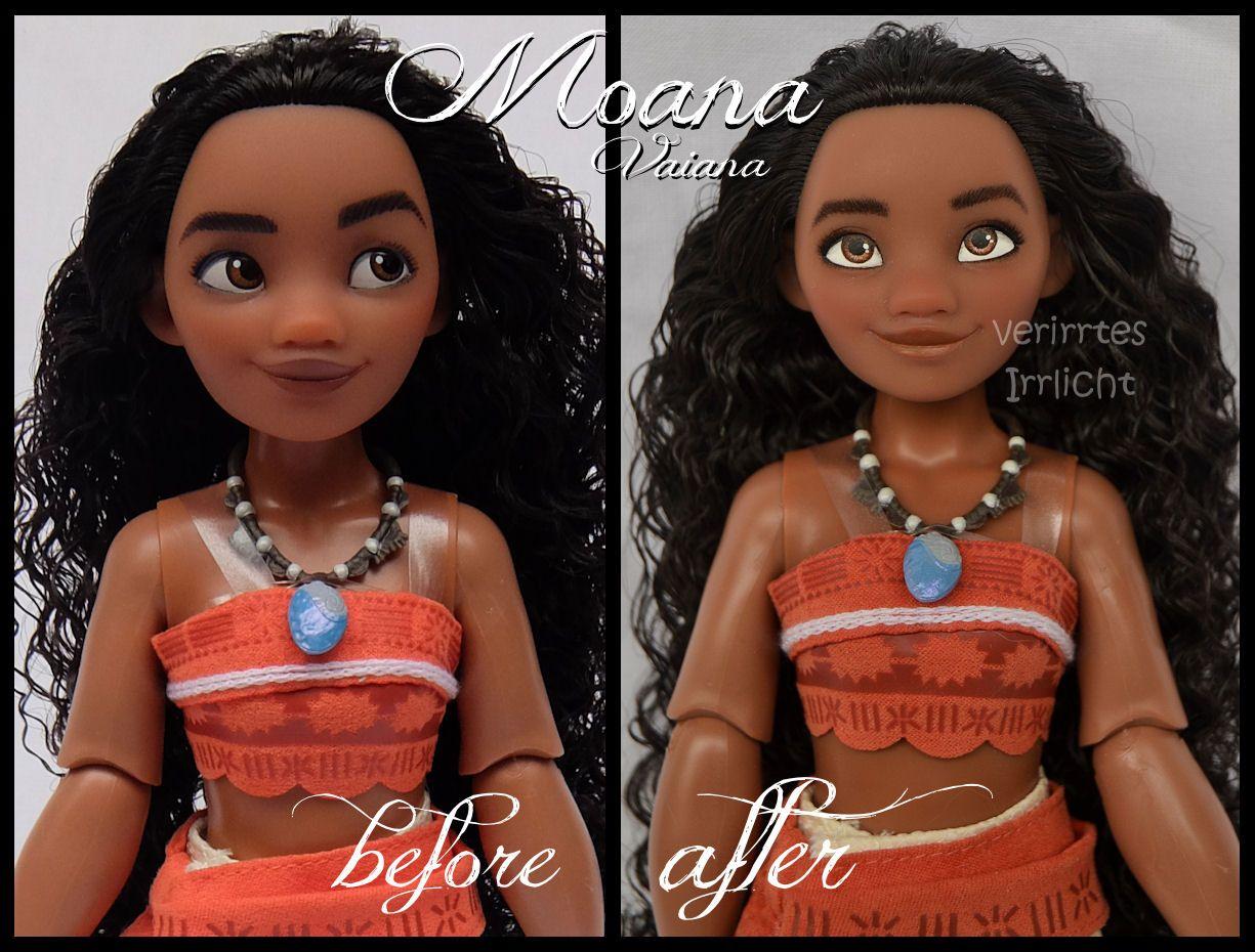 Disney Princess Vaiana Fashion Doll