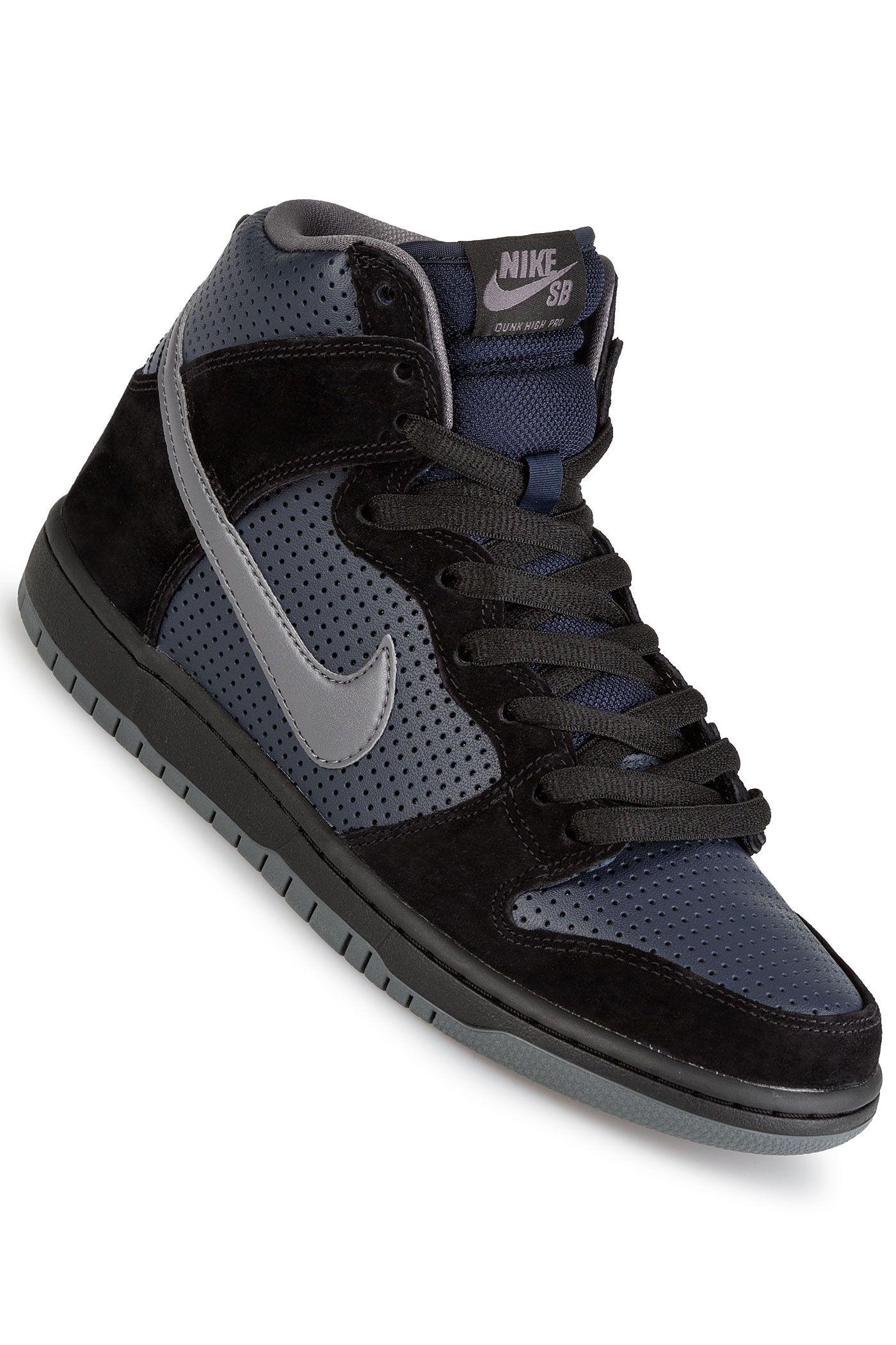 2b0e1e0f77e69 Nike SB Dunk High OG Gino Iannucci QS Schoen (black light graphite)