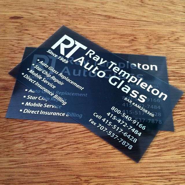 This unique businesscard is a silver foil on smoke plastic which business reheart Images