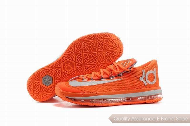 Nike KD VI Series Team Orange Basketball Shoes.Cheap NBA Basketball Shoes  for Sale online