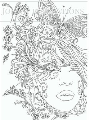 Adult Coloring Book Printable Coloring Pages von ...