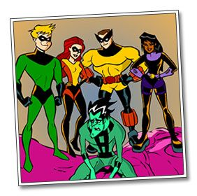 """Kid-friendly information about the immune system that is written similarly to a comic book called, """"The Immune Platoon."""""""