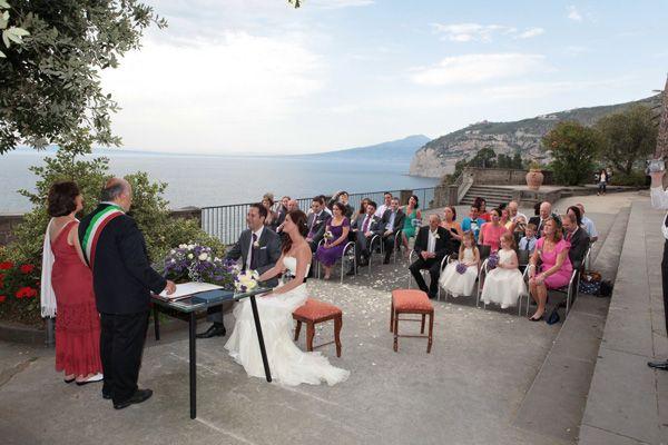 Villa Fondi wedding in Sorrento