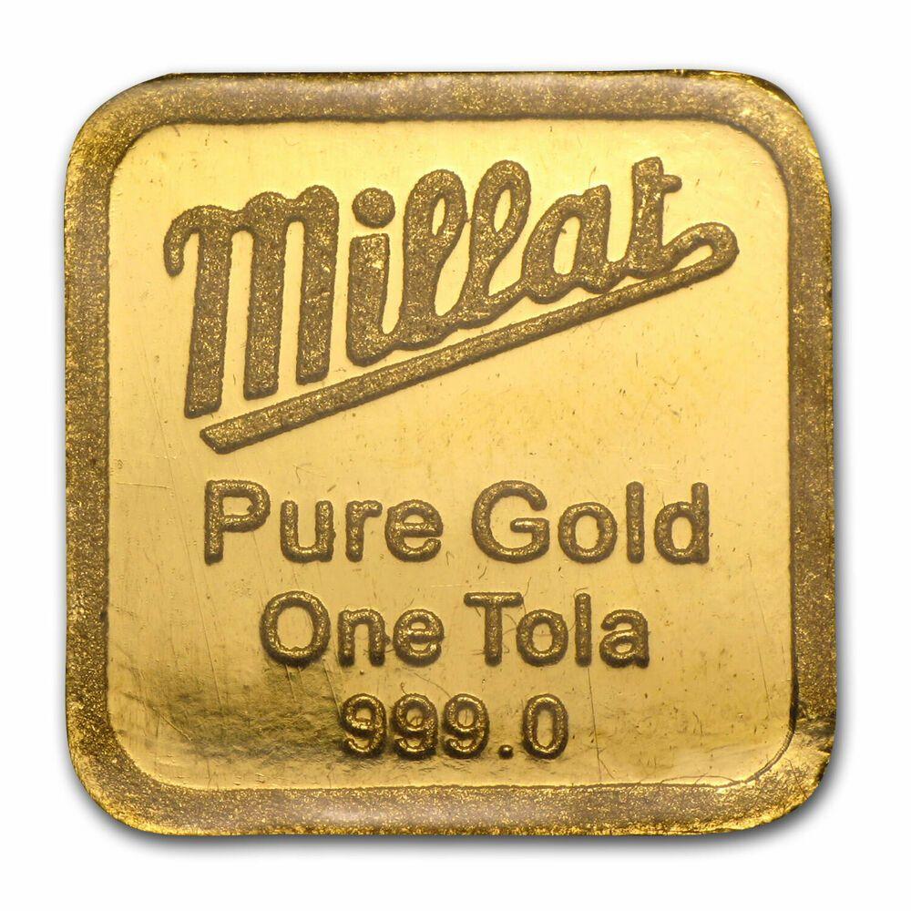 1 Tola Gold Bar Secondary Market 375 Oz Sku 79855 Ebay Gold Bars For Sale Gold Bar Tola