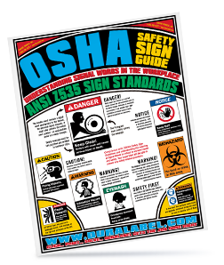 Free OSHA Safety Sign Poster company name required. First