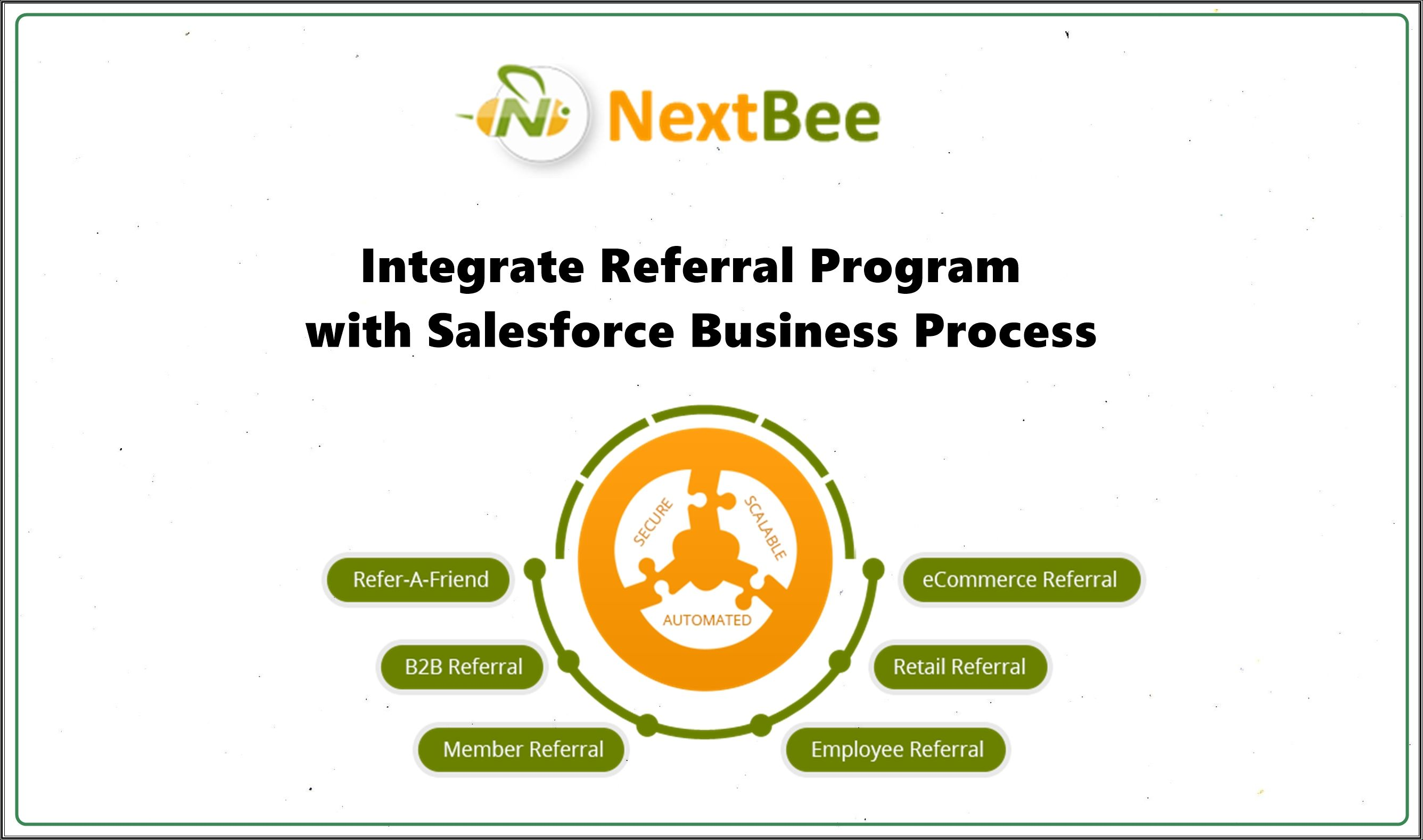 integrate referral program with salesforce business application