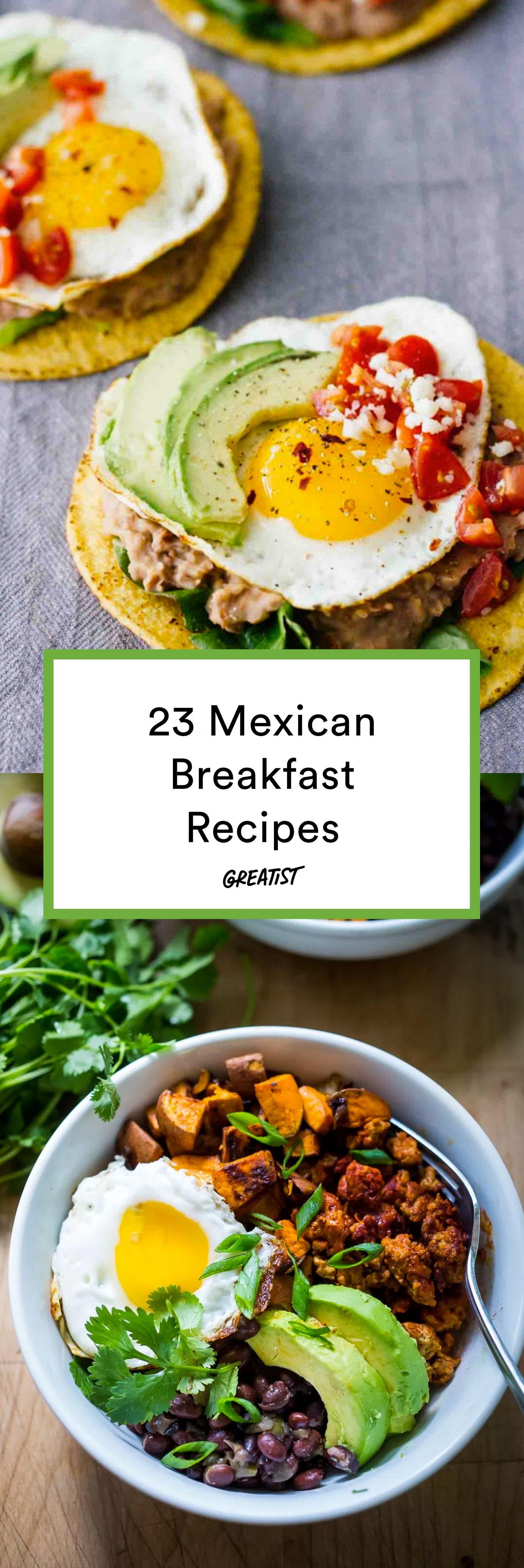 mexican breakfast food recipes