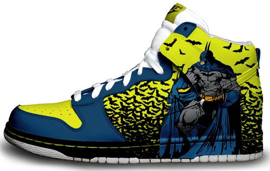 nike does Batman. HELL YEAH