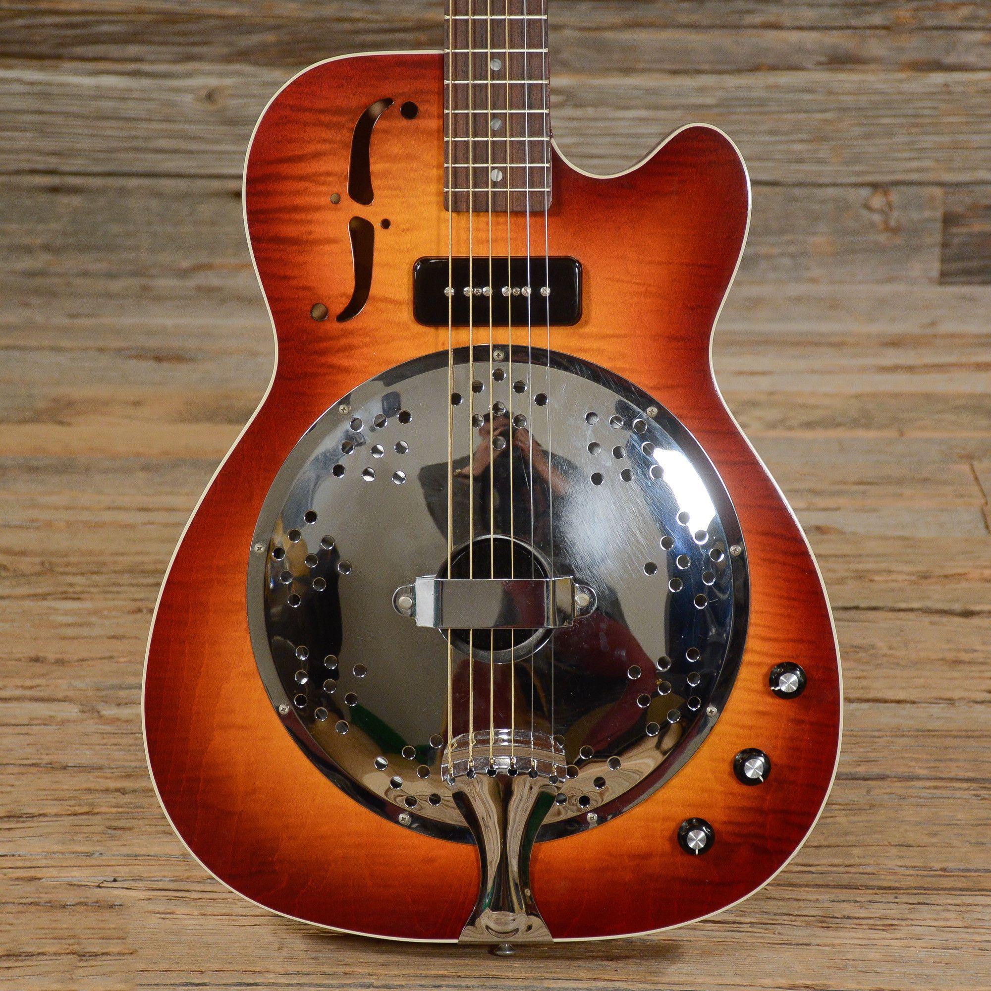 Gibson Dobro Dobrolectric Resonator Sunburst 1998 (s520)
