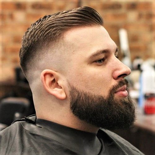 Pin By Amy Weekley On Beards High Skin Fade Thick Beard Beard Styles